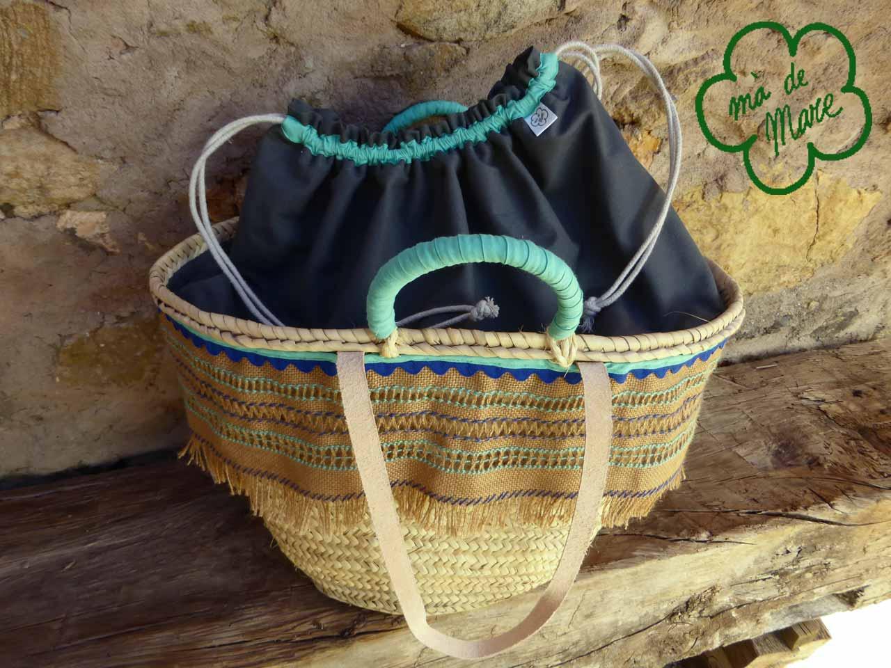Capazo playa/piscina o bolso 6