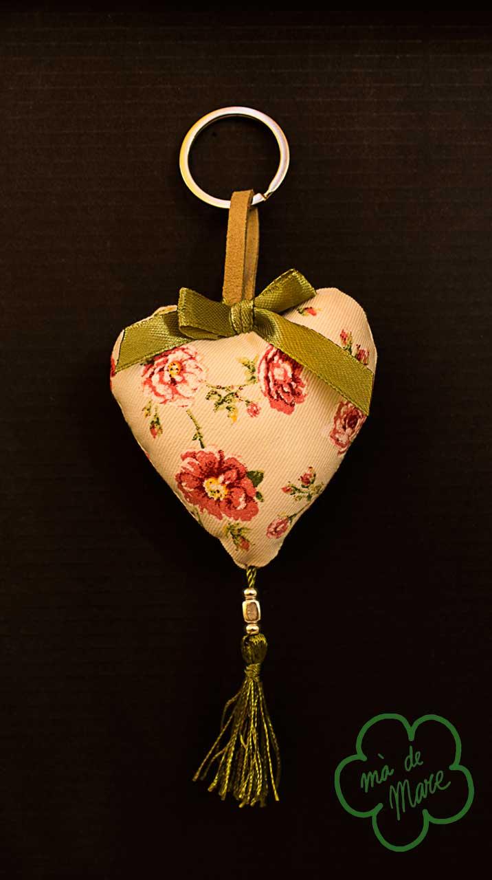 Llavero corazones, regalo evento